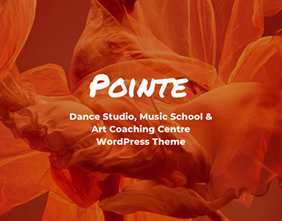 Pointe - Dance Studio WordPress