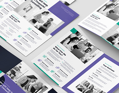 Consultations StartUp – Brochures PSD Templates