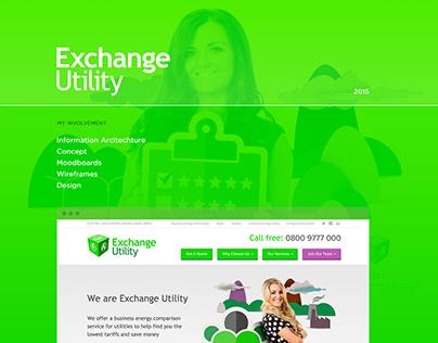 Exchange Utility - Web Design