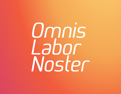 Afiche Omnis Labor Noster