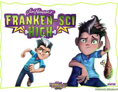 Franken-Sci High 3D animated teaser is coming!