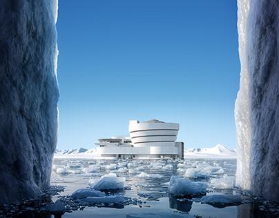 Postcard I. - Iceberg