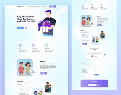 Non-Profit Landing Page