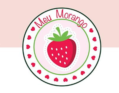 Meu Morango - Logo Design