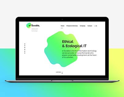 e-Durable Webdesign & Rebranding