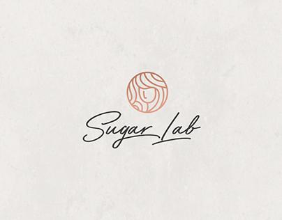 Sugar Lab Café Rebranding.