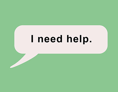Ask for Help Campaign, Magazine Ad.