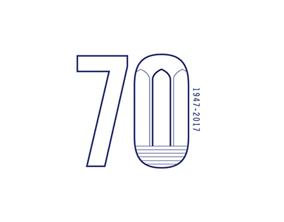 Fuller's 70th Anniversary Logo