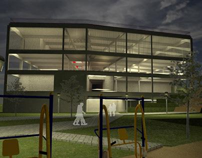 Centro Cultural - Projeto 4