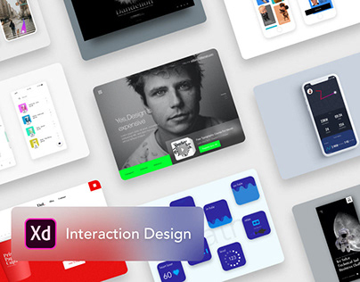UI Interactions collection#1 - made with Adobe XD