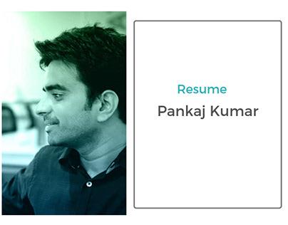 Resume : Pankaj Kumar