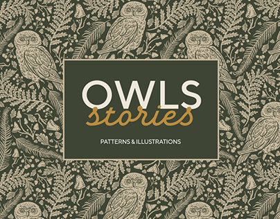 Owls Graphic Collection By: Pinata Foundry