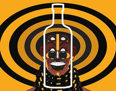 Absolut Vodka - Absolut Fulani