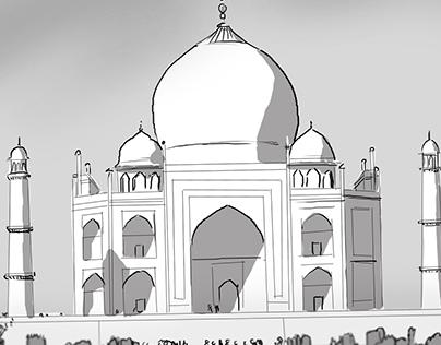 Terror at the Taj Majal!