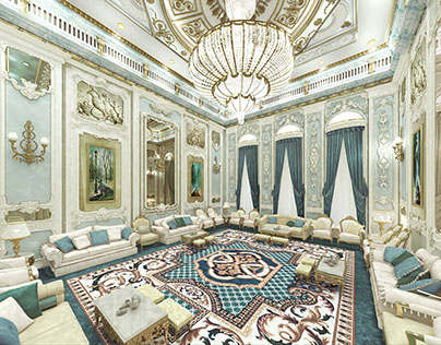 Palace Interior 3d Renderings