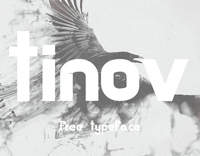 Tinov free font.