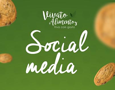 Vivato Alimentos - Social media