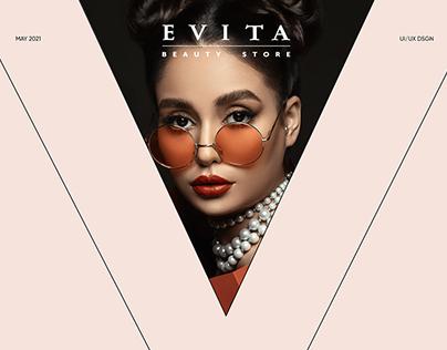 E-commerce project EVITA STORE