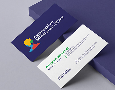 Expressive Minds Academy Logo Design