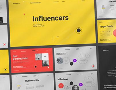 Influencers Multipurpose Template