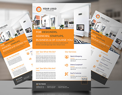 corporate flyer design