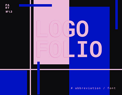 Logo typography / abbreviation.
