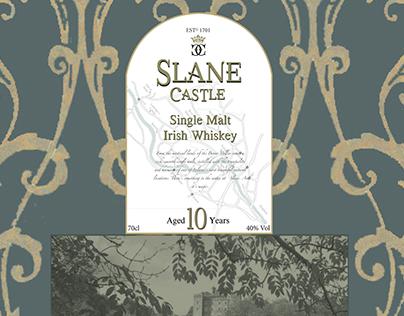 Slane Castle Whiskey Branding