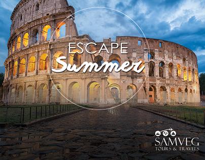 Samveg - Escape Summer - Social Media Campaign