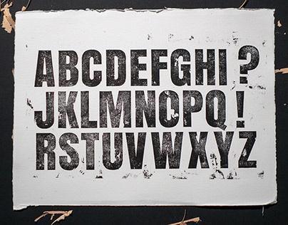 Personal Project: DIY Letterpress printing