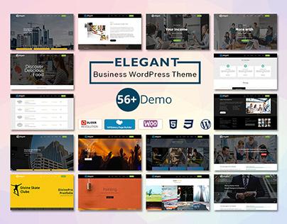 Elegant Corporate WordPress Theme