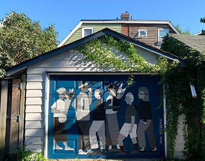 mural 'PEOPLE'