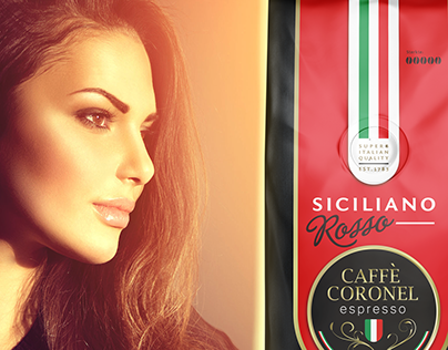 Caffè Coronel Packaging Design