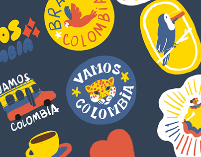 Stickers Tokyo 2020 x Snapchat: Colombia