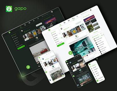 Gapo - Redesign newsfeed