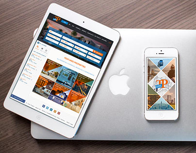 Turki properties - Web design & Mobile application