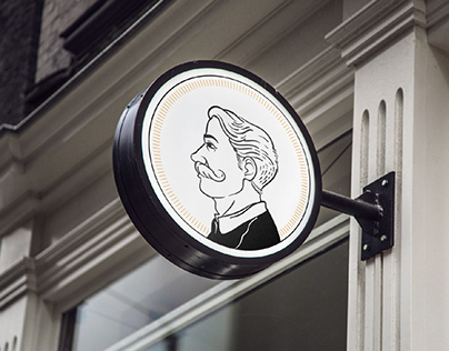 Sir Gallant Barber Room, Brand Identity