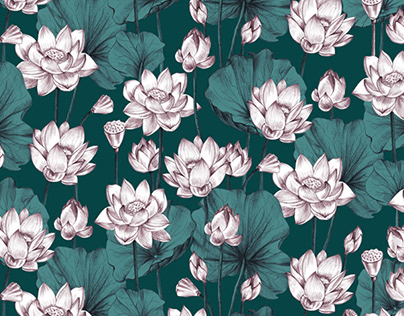 Mini collection of seamless patterns