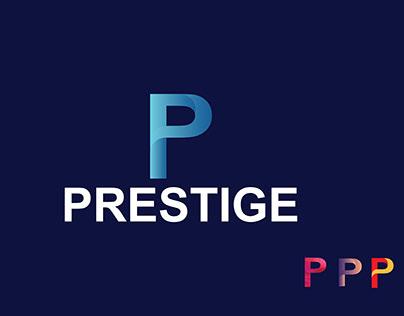 P Modern Letter Logo Mark