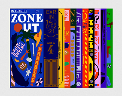 Zone Out Poster Series: Season 1