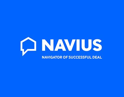 Online service Navius | Brand design