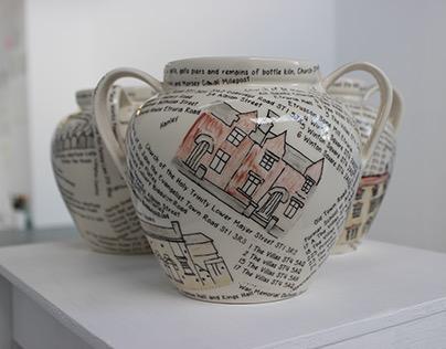 Stoke On Trent- Ceramic Pots