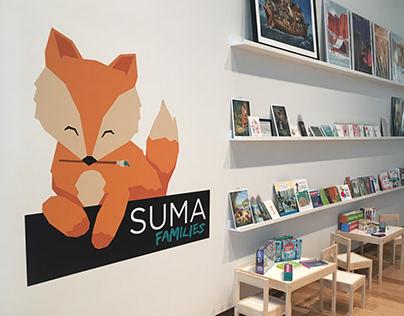 The New SUMA Families Logo/Mascot
