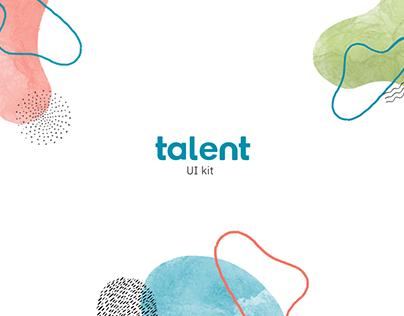 Ui Kit Talent | Site Multiplica Talent