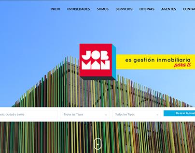 JOBMAN inmobiliaria // DISEÑO WEB // SITIO DE LISTADOS