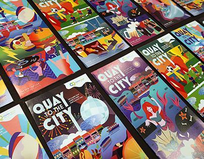 Clarke Quay: Quarterly Brochures 2018