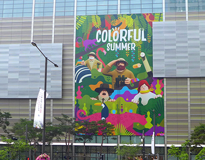 Lotte World Mall × Superfiction | SS
