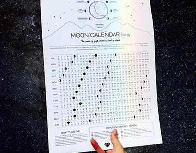 Stoned Crystals - Full Moon Calendar