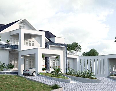 exterior 3d work