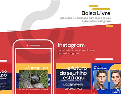 Bolsa Livre - Social Media
