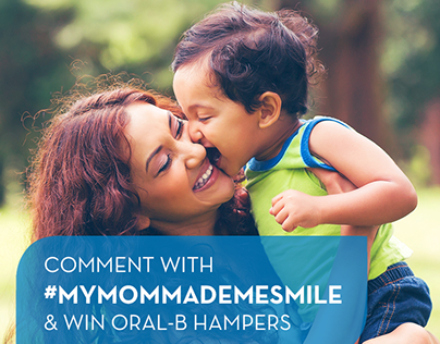 Mother's Day - FB Posts for Oral-B